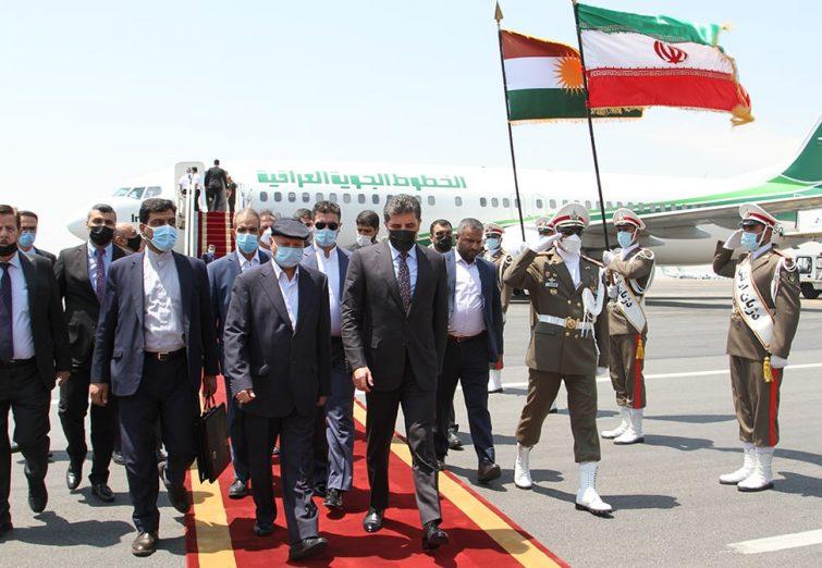 عکسهای سفر نچیروان بارزانی رئیس اقلیم کردستان به تهران