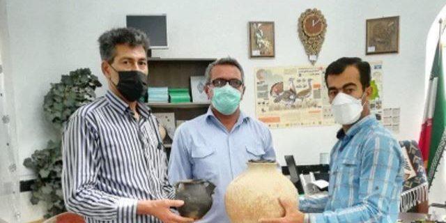 کوزههای سه هزار ساله به میراث فرهنگی بوکان اهدا شدند