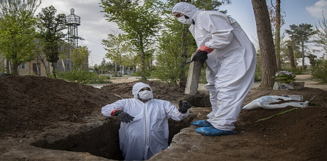 بحران کرونا در مهاباد