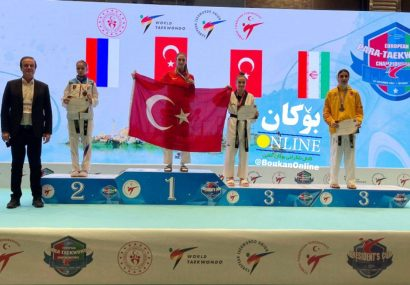 درخشش تکواندو بوکانی در مسابقات بینالمللی پرزیدنت کاپ ترکیه