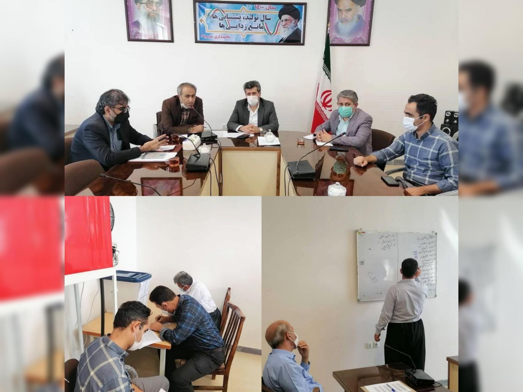 انتخابات شورای اسلامی بخش سیمینه برگزار شد